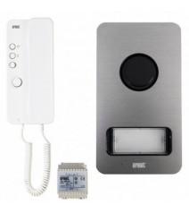 VideoStar Telecamera Bullet Varifocal 2.8-12 mm 1080P Paster Bianca