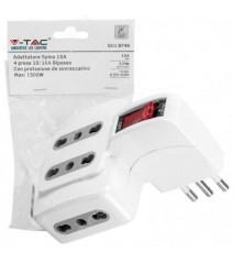 V-Tac Proiettore Led Chip Samsung 30W Bianco 6400K IP65