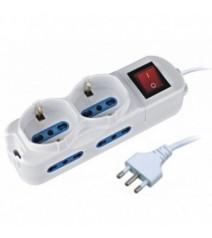 Techly Tastiera 104 tasti USB Standard Colore Nero
