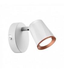 Sirena autoalimentata per uso esterno per impianti di sicurezza lampeggiatore a Led contenitore in acciaio inox aisi304
