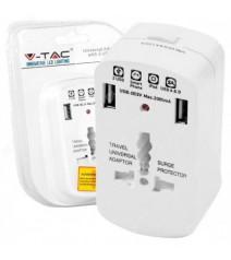 Bticino Centralino da incasso serie E215 in resina termoplastica con portello bianco 8 moduli DIN
