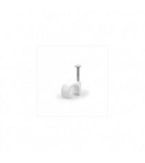Profilo Piatto in Alluminio Slim per Strisce Led Verniciato Bianco 2 Metri Copertura Opale