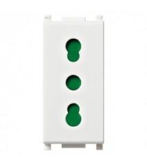 Profilo in Alluminio per Strip 12.4mm) 2000 x 17.4 x 7mm Colore Bianco