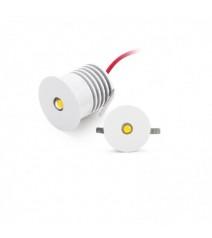 V-Tac Portafaretto LED da Muro Quadrato GU10 Orientabile Colore Nero IP44