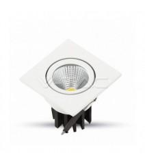 V-Tac Punto Luce Led con Sensore Crepuscolare Chip Samsung 3000K