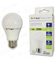 V-Tac Profilo in alluminio per strip Led largo trasparente 1 metro senza alette colore alluminio