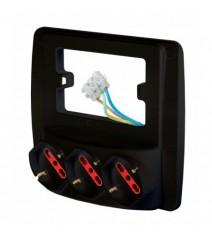 V-Tac profilo in alluminio per strip Led lunghezza 2 metri con alette colore alluminio