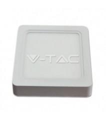 V-Tac profilo in alluminio per strip Led lunghezza 1 metro senza alette colore alluminio