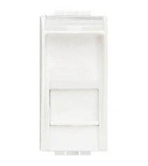 Cavo di rete Patch in CCA Cat.5E Bianco UTP 2m