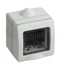 Portalampadina E27 Metallo Ottonato Filettato