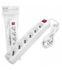 Portalampada E27 Base Inclinata Bianco Bachelite