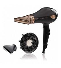 Rowenta Phon Asciugacapelli agli Ioni Potenza 2200 Watt Beccuccio Stretto/largo e Diffusore Signature Pro